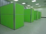 綠色辦公屏風