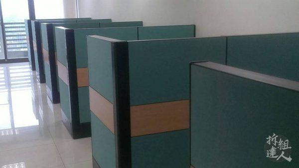 二手辦公家具,塊狀屏風